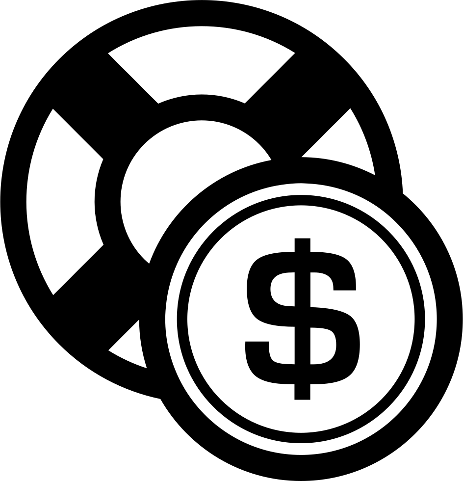 Safety Dollar Coin Commercial Symbol