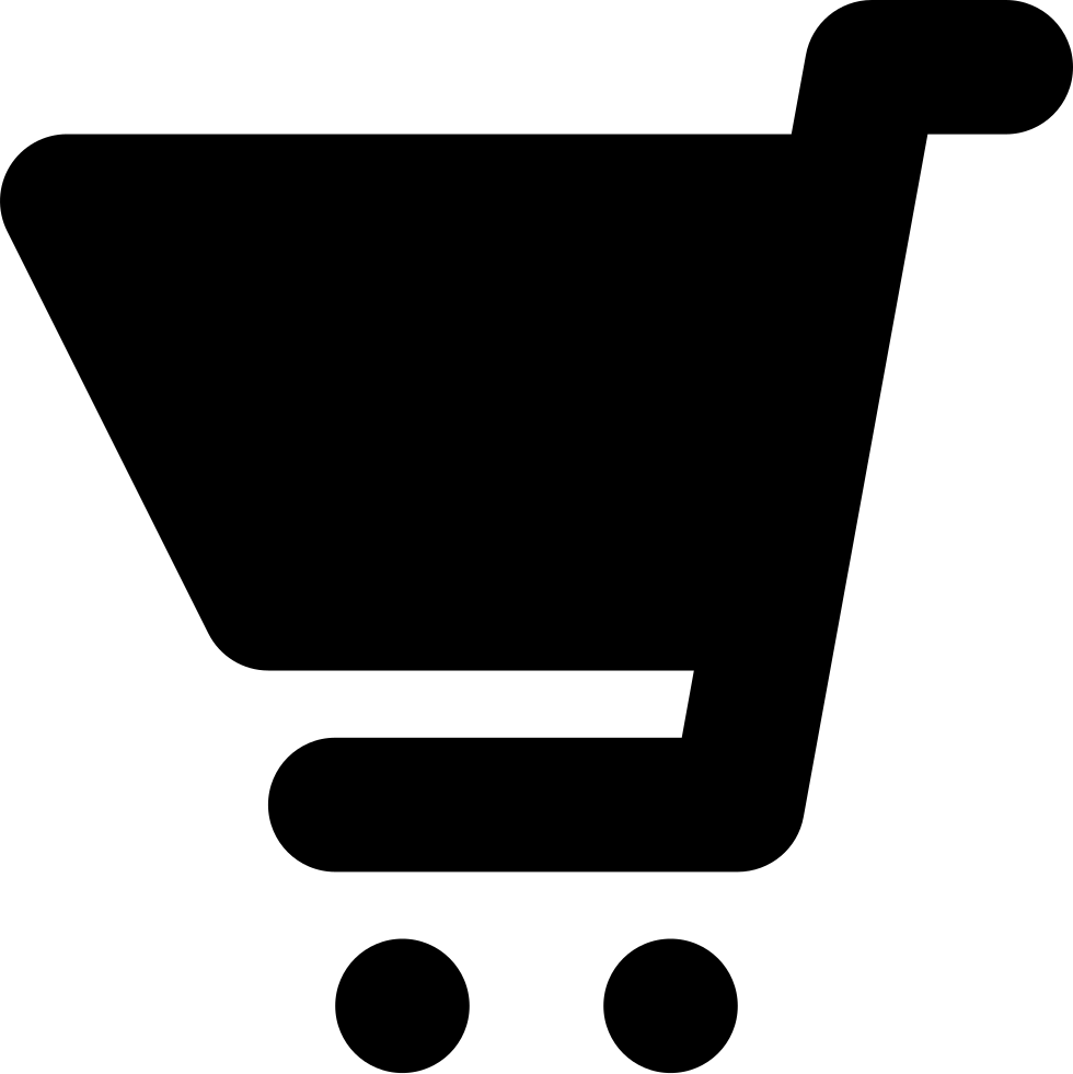 Shopping Cart Black Variant
