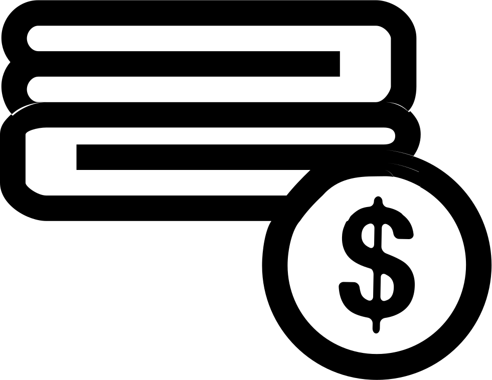 Towels Sale Symbol With Dollar Sign