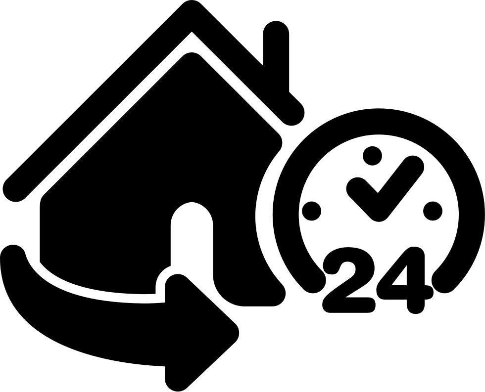 24 Hours Home Service Svg Png Icon Free Download (#61616) -  OnlineWebFonts.COM