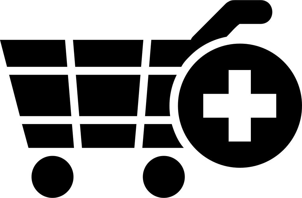 Add To Shopping Cart E-commerce Symbol