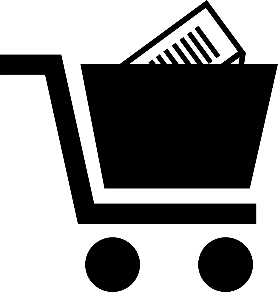 Shopping Cart With Product Inside