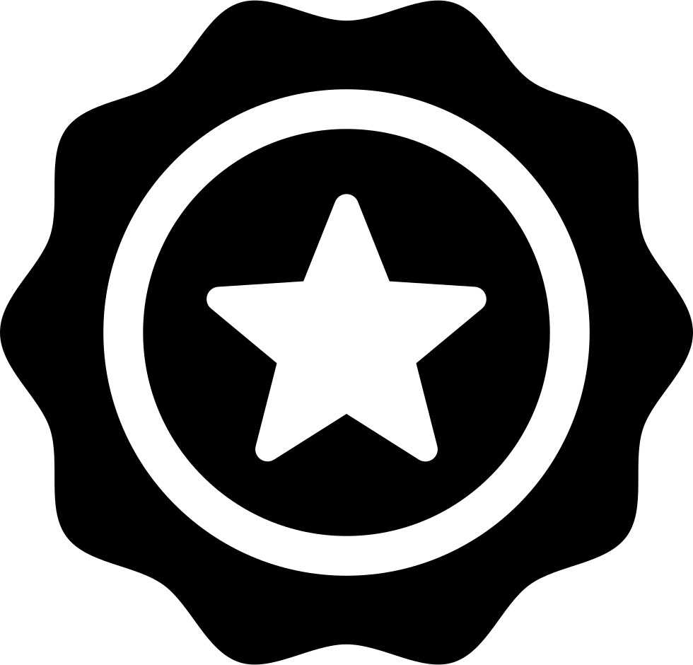 Favorite Supermarket Badge With A Star