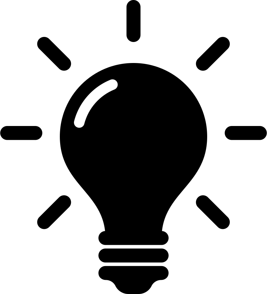 Idea And Creativity Symbol Of A Lightbulb