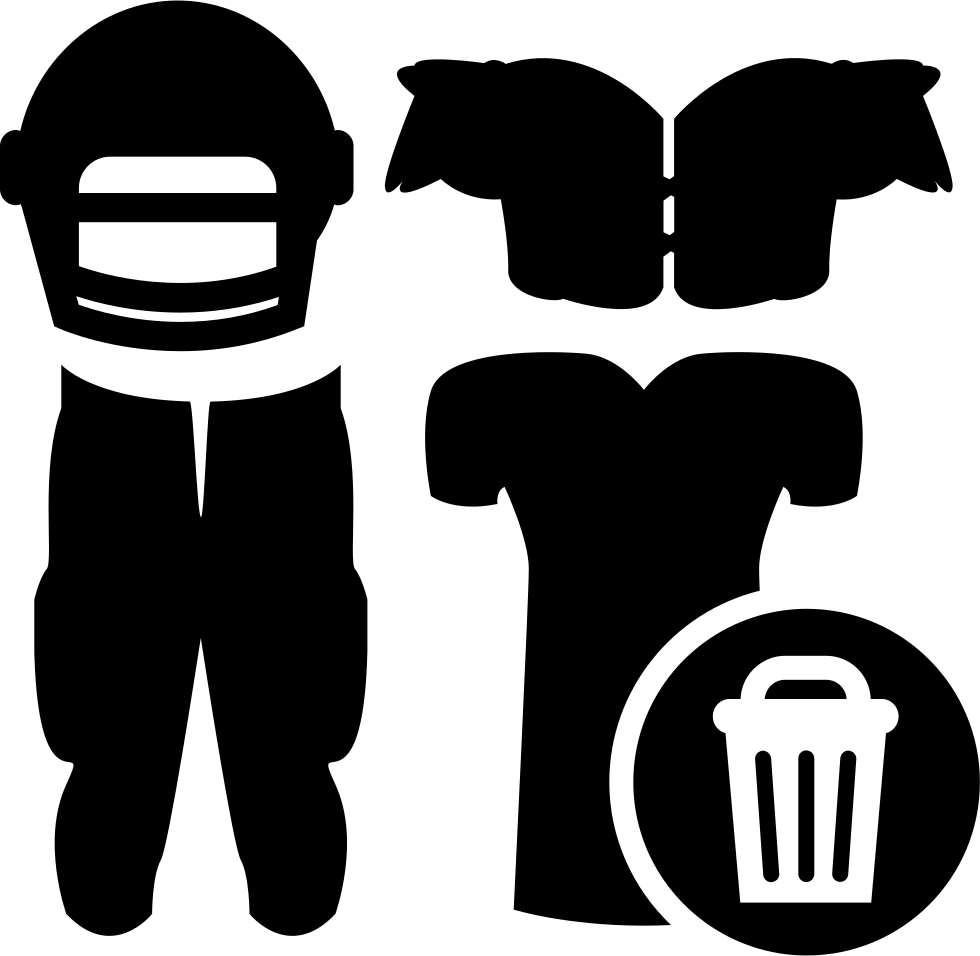 Rugby Clothes Equipment With Laundry Basket Sign