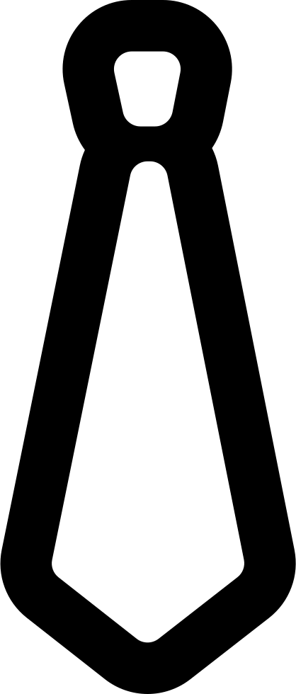 Tie Outlined Male Cloth