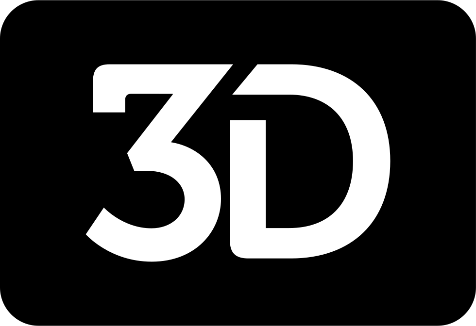 3d Movie Symbol For Interface