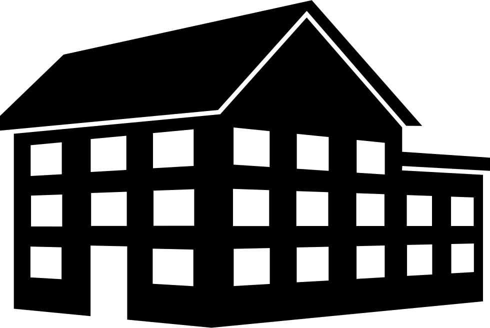 Big House Building Of Three Floors Svg Png Icon Free
