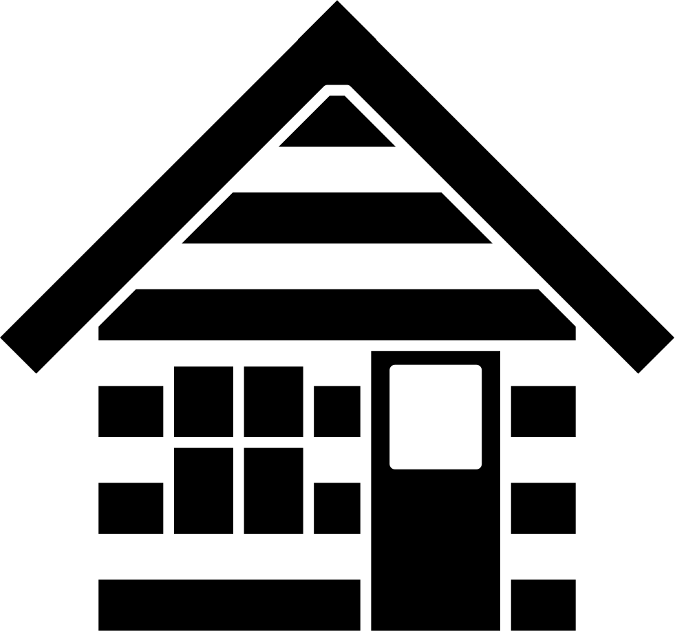 Cabin House Outline