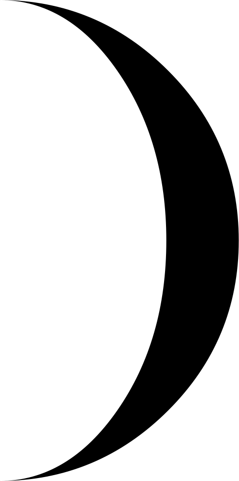 Moon Phase Circular Weather Symbol
