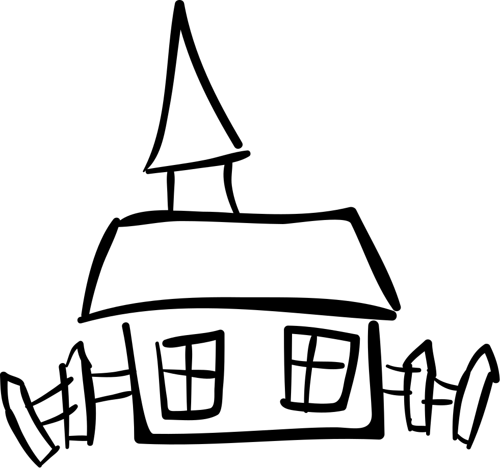 House Hand Drawn Building