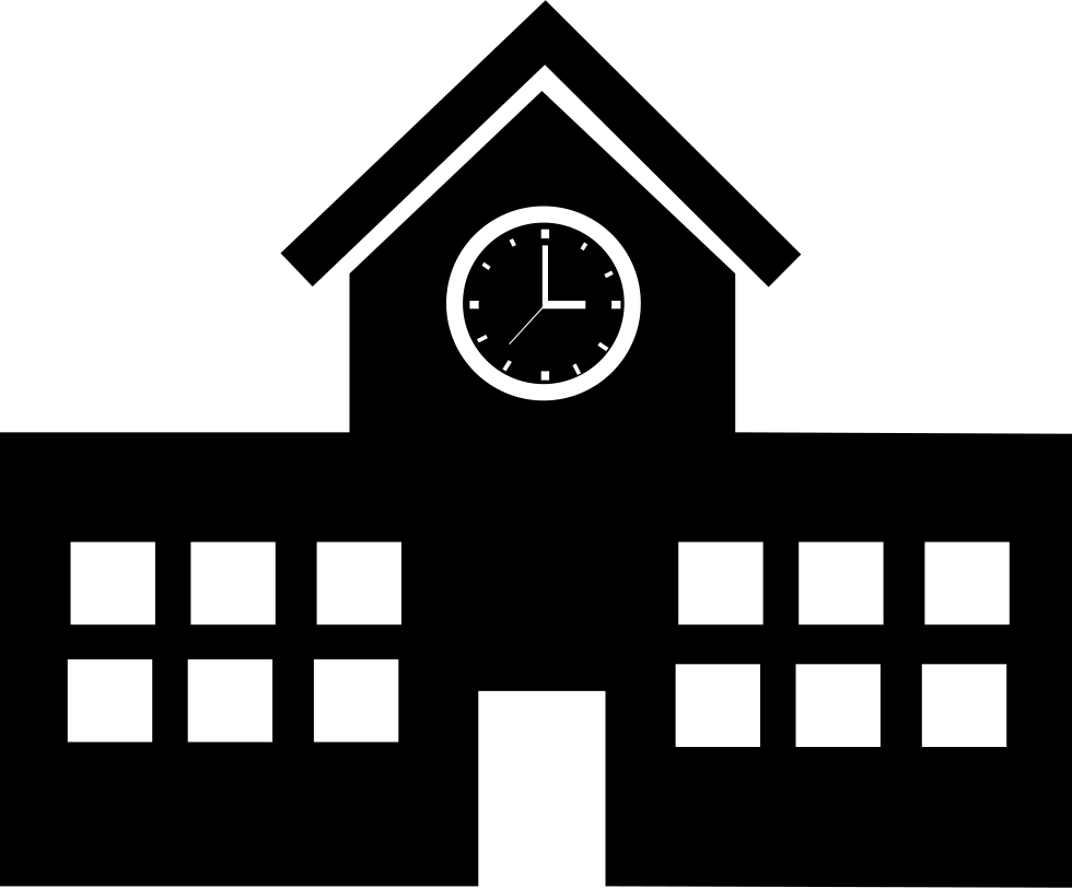 school building svg png icon free download 67069