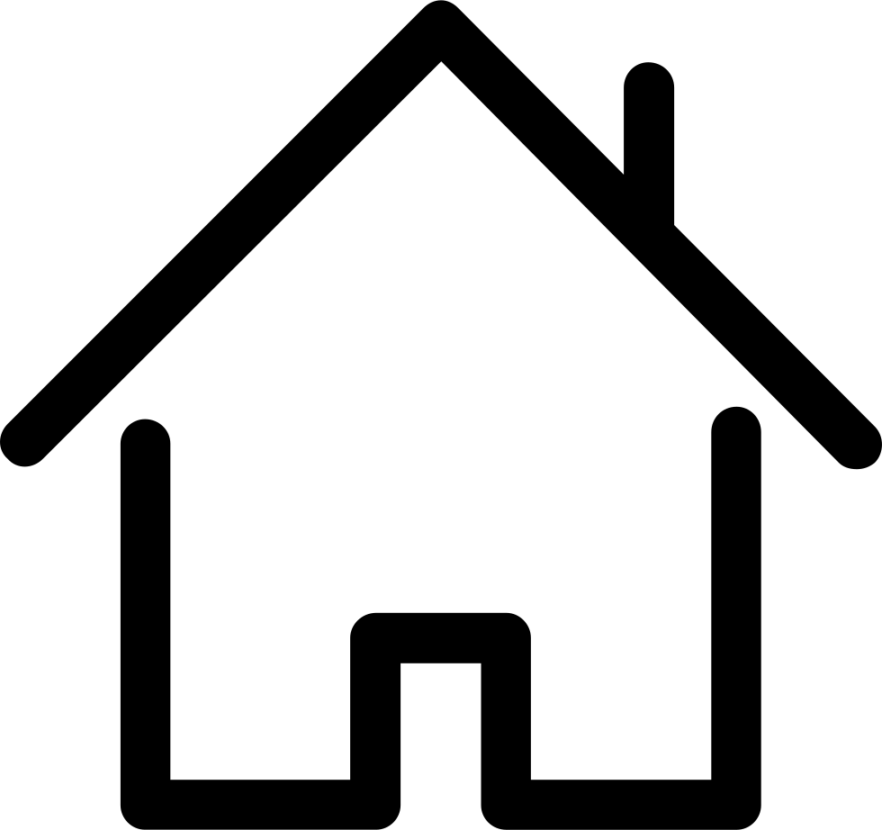 Line Art House Png : House outline svg png icon free download