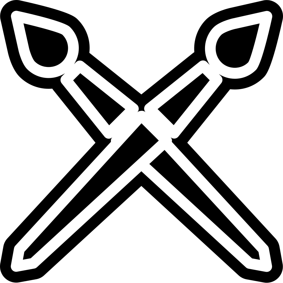 Brushes Outlines Cross