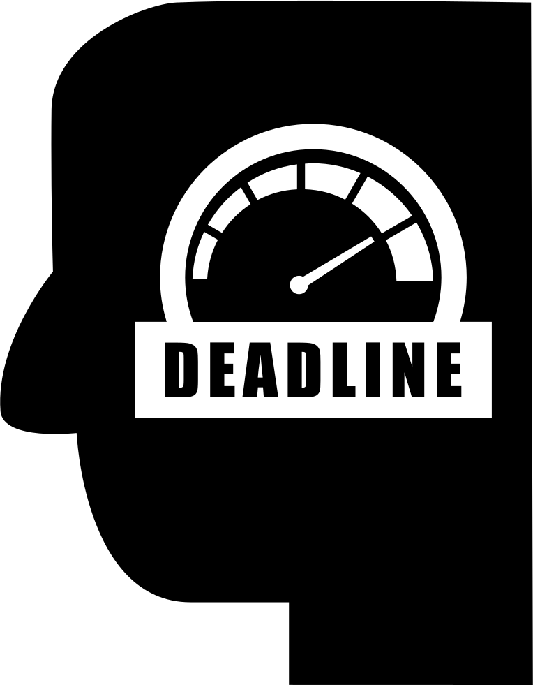 Deadline Head Symbol