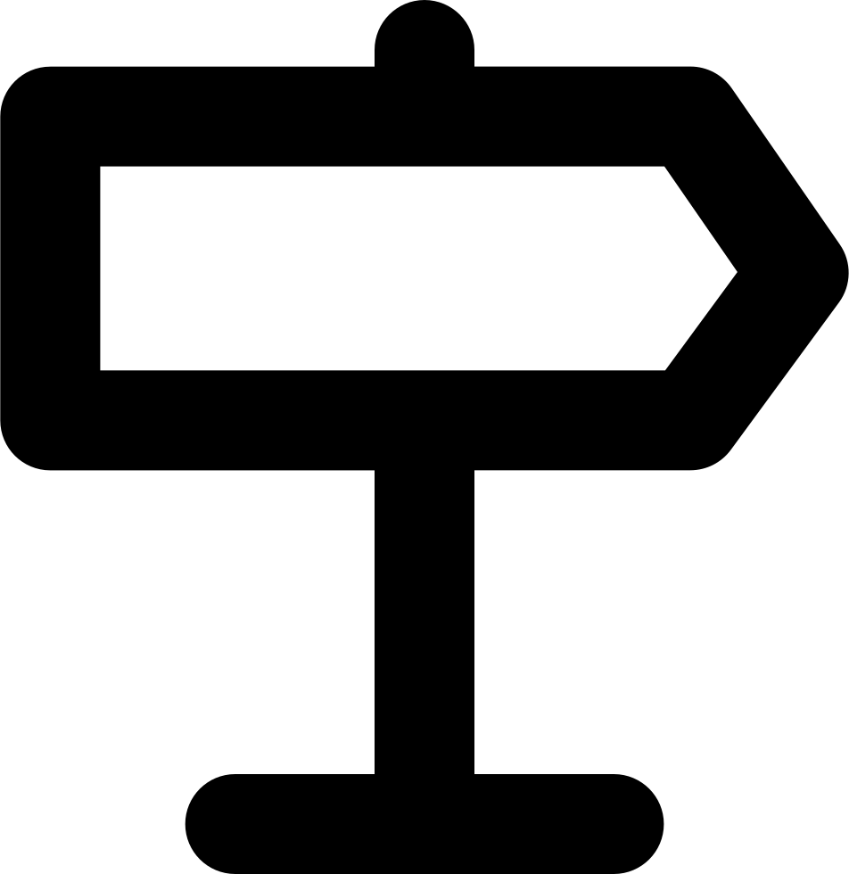 Traffic Sign Right