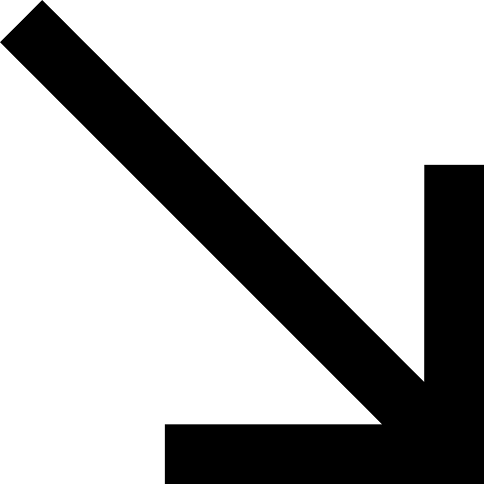 Diagonal Down Arrow