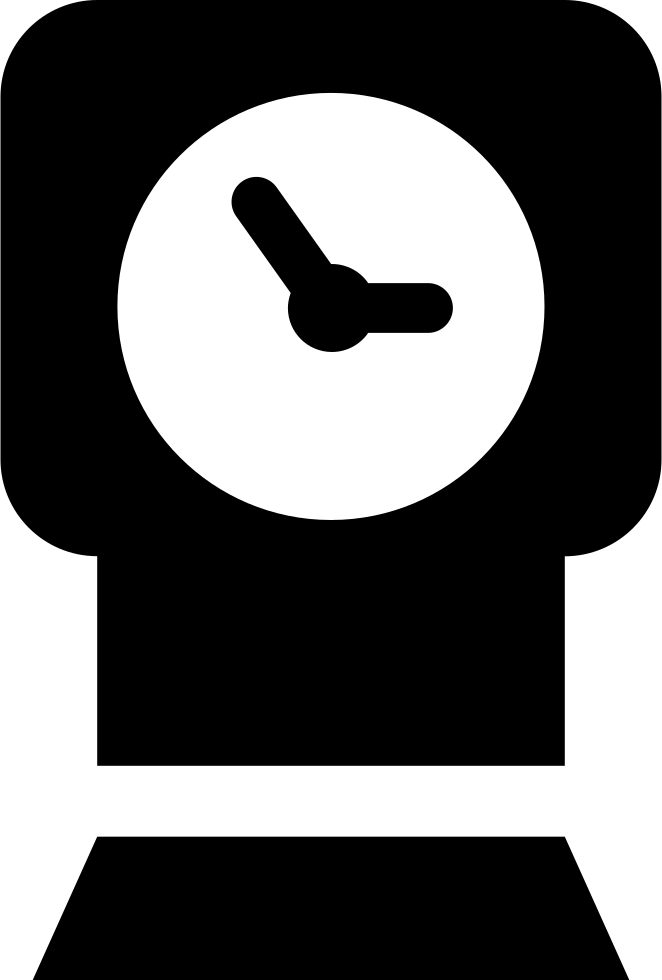 Clock Of Rectangular Shape