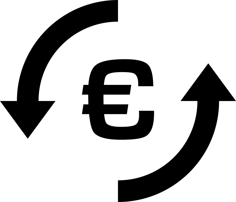 Euro Money Exchange Symbol