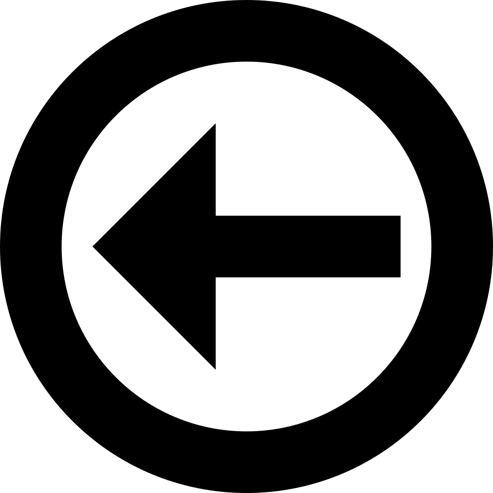 Directional Arrow On A Circle