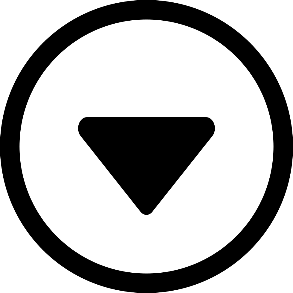 Circle With A Down Arrow