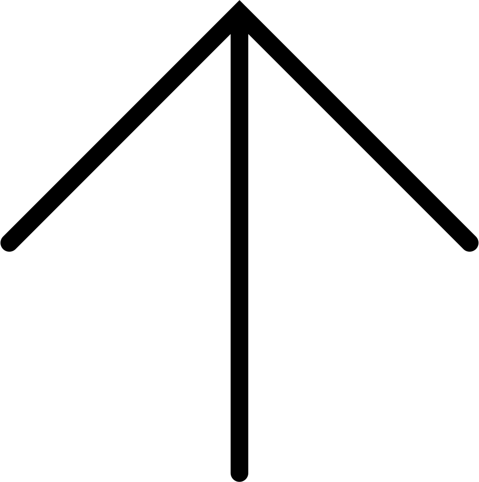 Thin Up Arrow