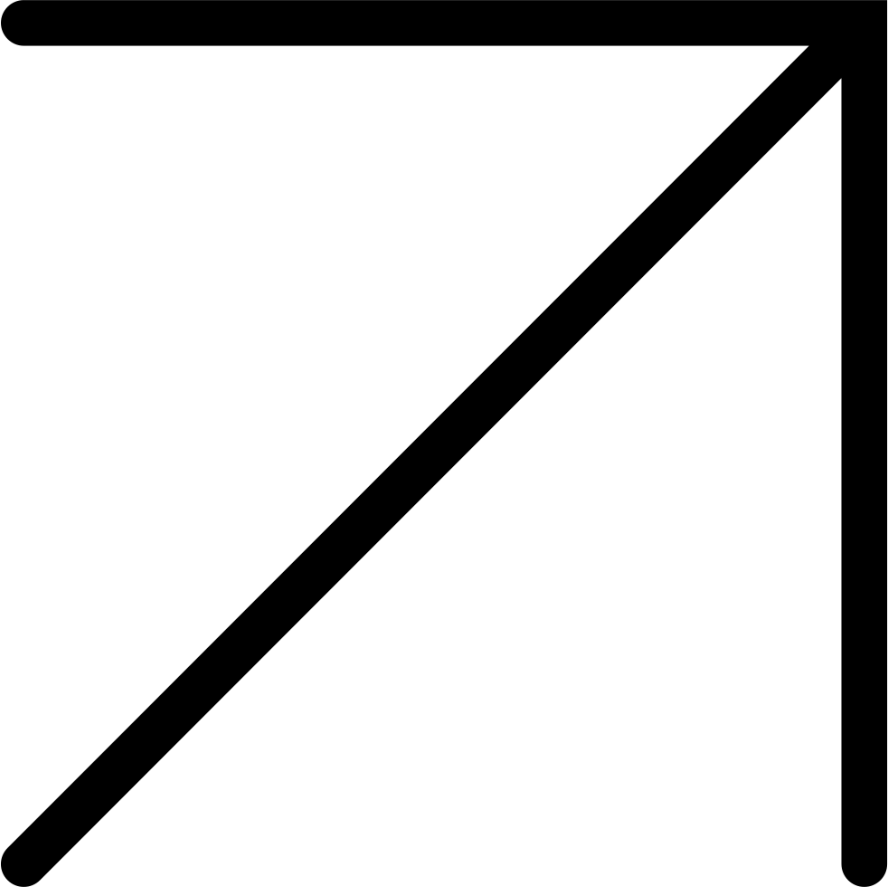 Big Thin Diagonal Arrow