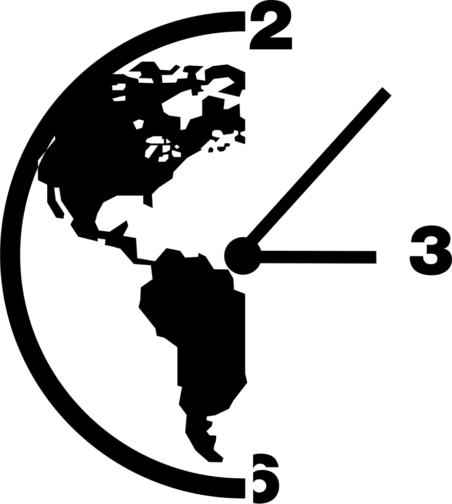 Earth Time Symbol