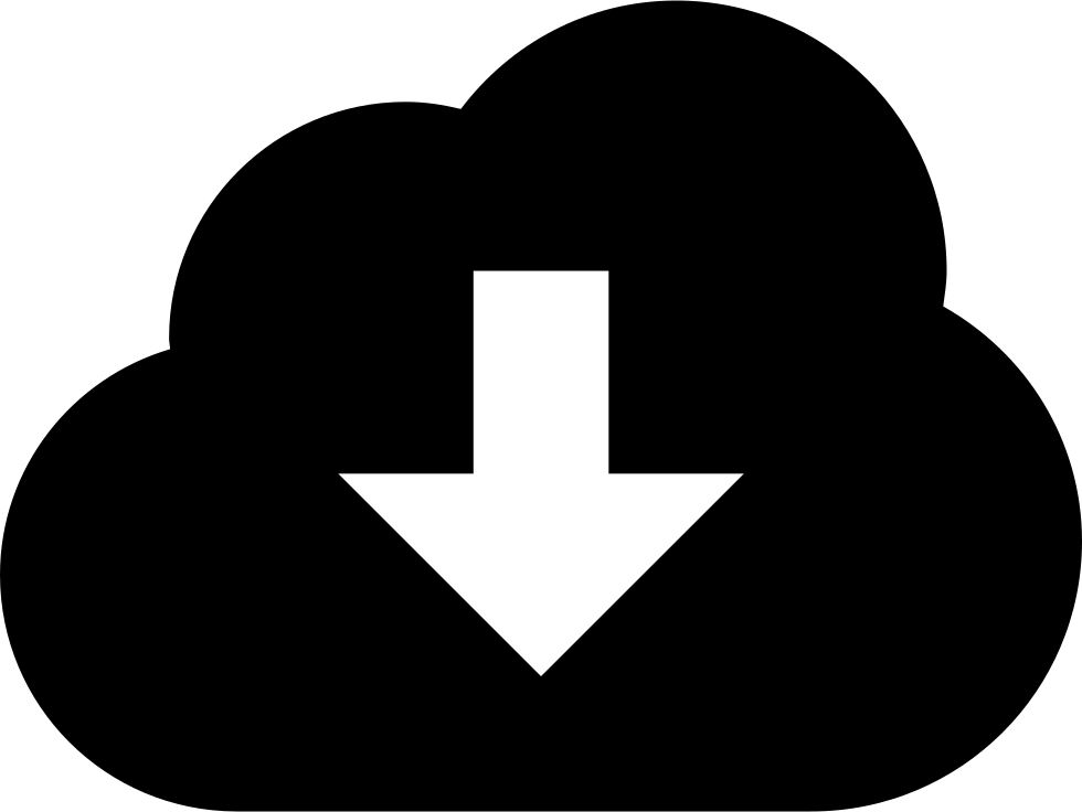 Cloud Download Symbol