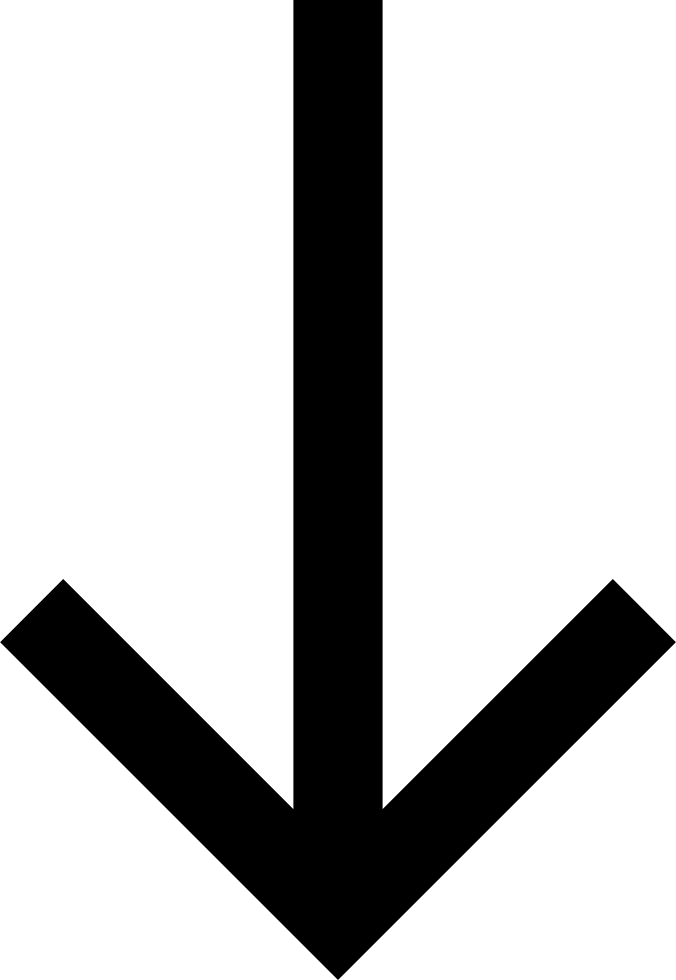 Down Arrow Direction