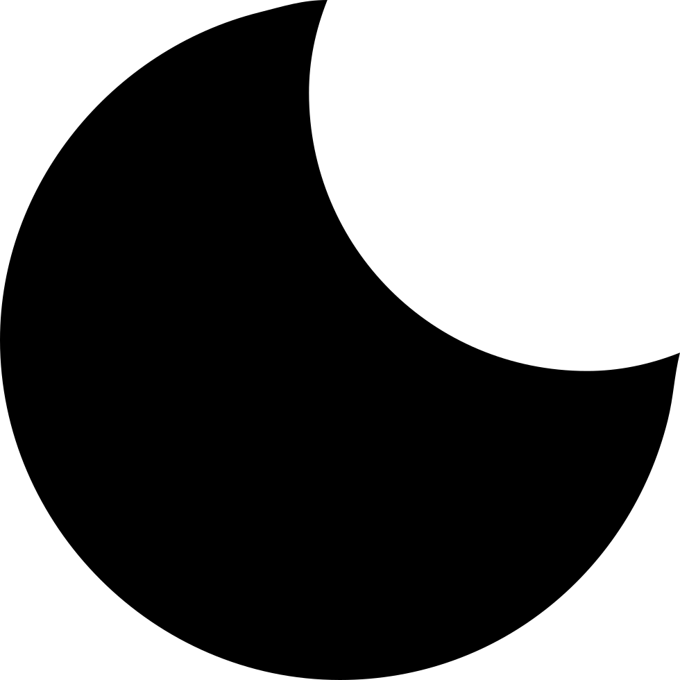 Crescent Moon Phase Symbol Of Weather