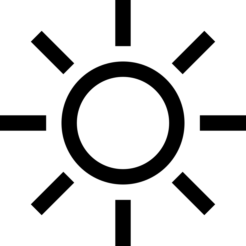 Day Sun Weather Symbol