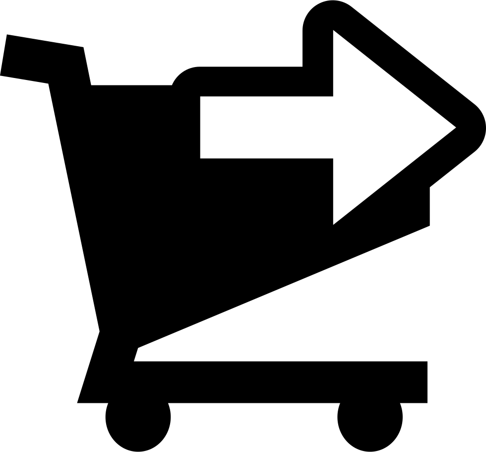 Shopping Cart Right Arrow Button