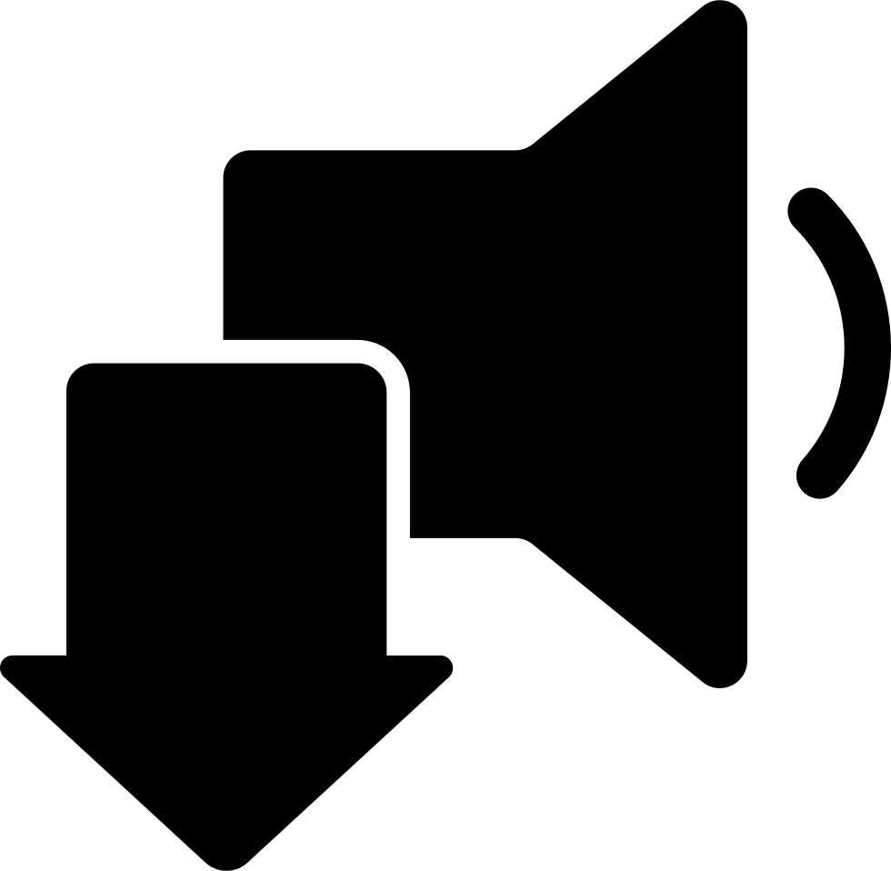 Download Speaker Audio Symbol