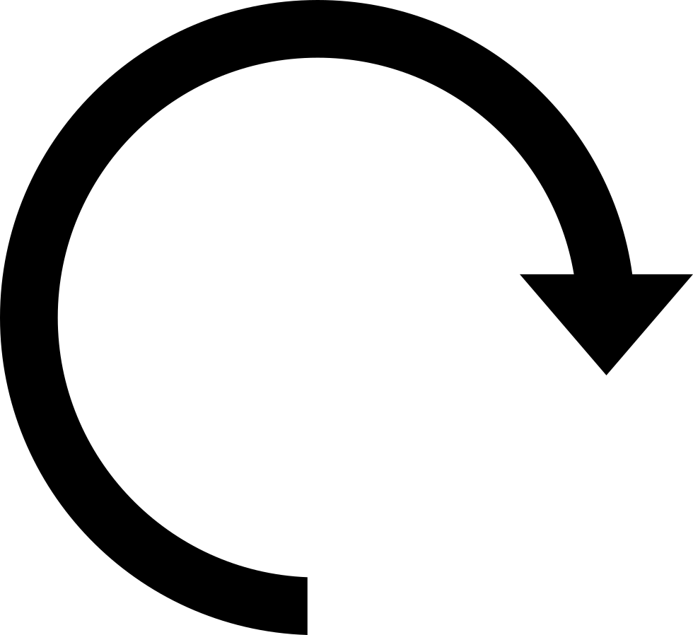 Clockwise Circular Arrow