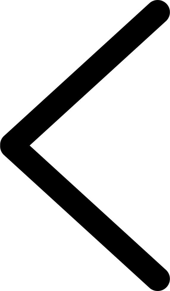 Left Arrow Line Symbol