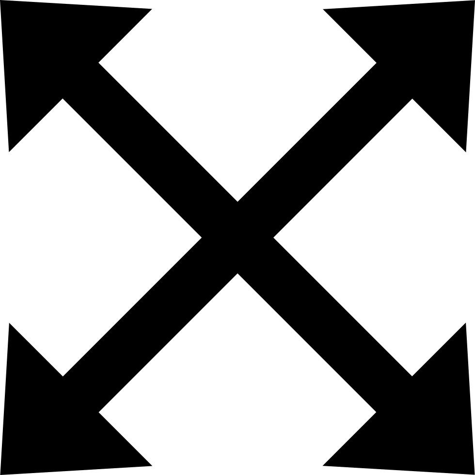 Move Four Arrows Grouped Symbol