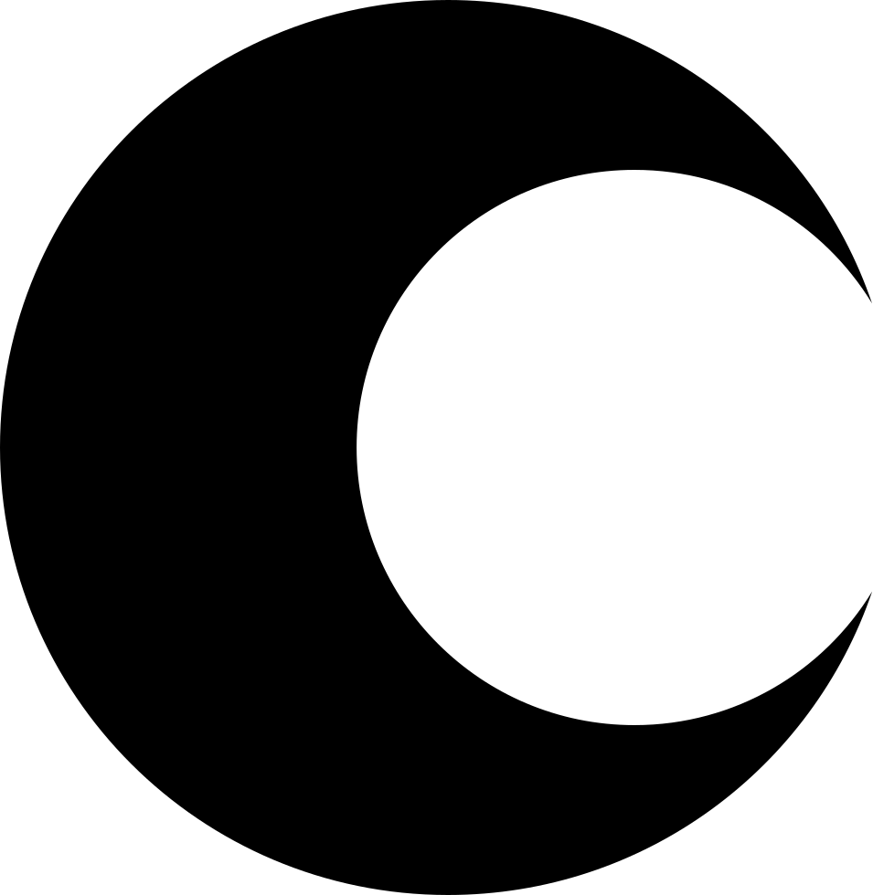 Moon Phase Symbol For Weather Interface