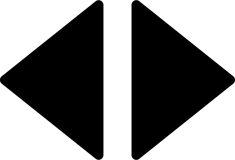Arrows Right And Left Filled Triangles