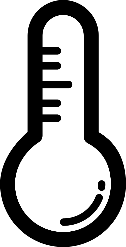 Thermometer Outline