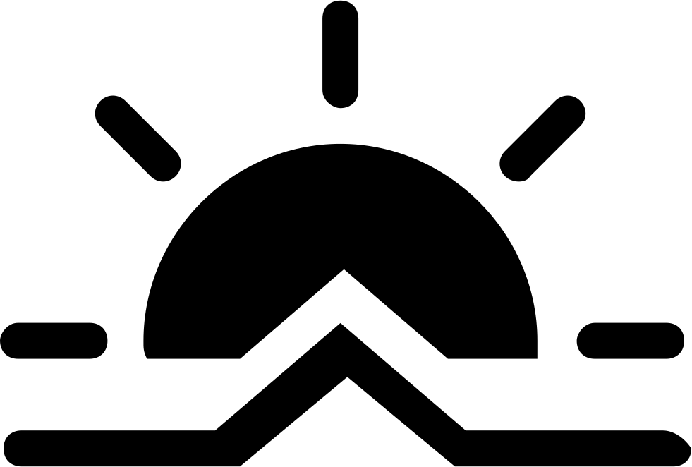 Sunrise Weather Symbol