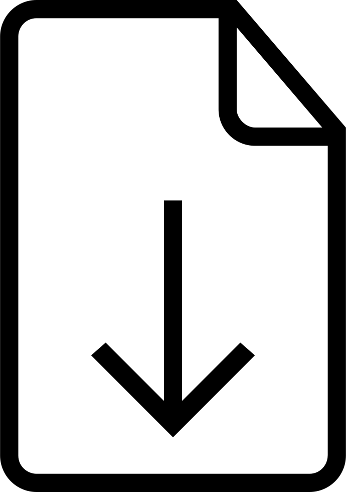 Downloadable File Interface Symbol Of Stroke