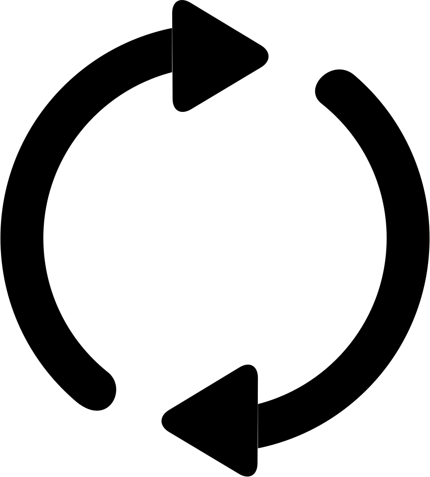 Two Circling Arrows
