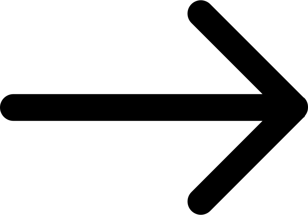 Right Arrow Of Straight Lines