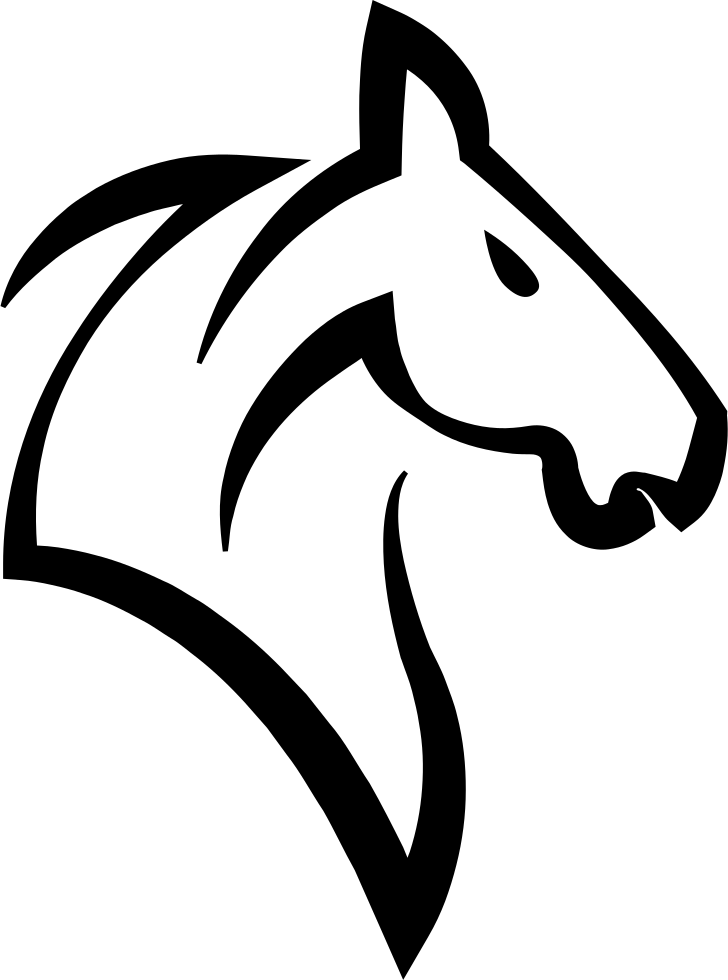 Head Of A Horse Outline