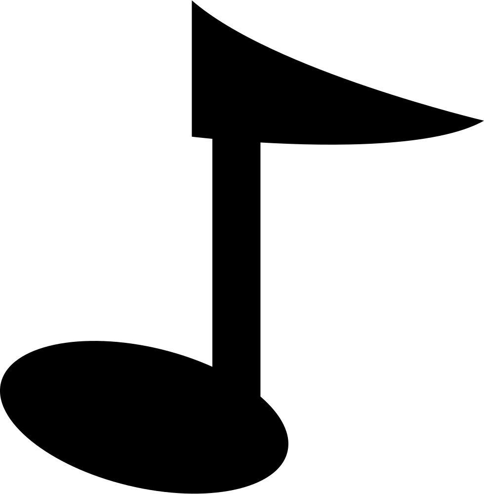 Musical Note Cartoon Variant