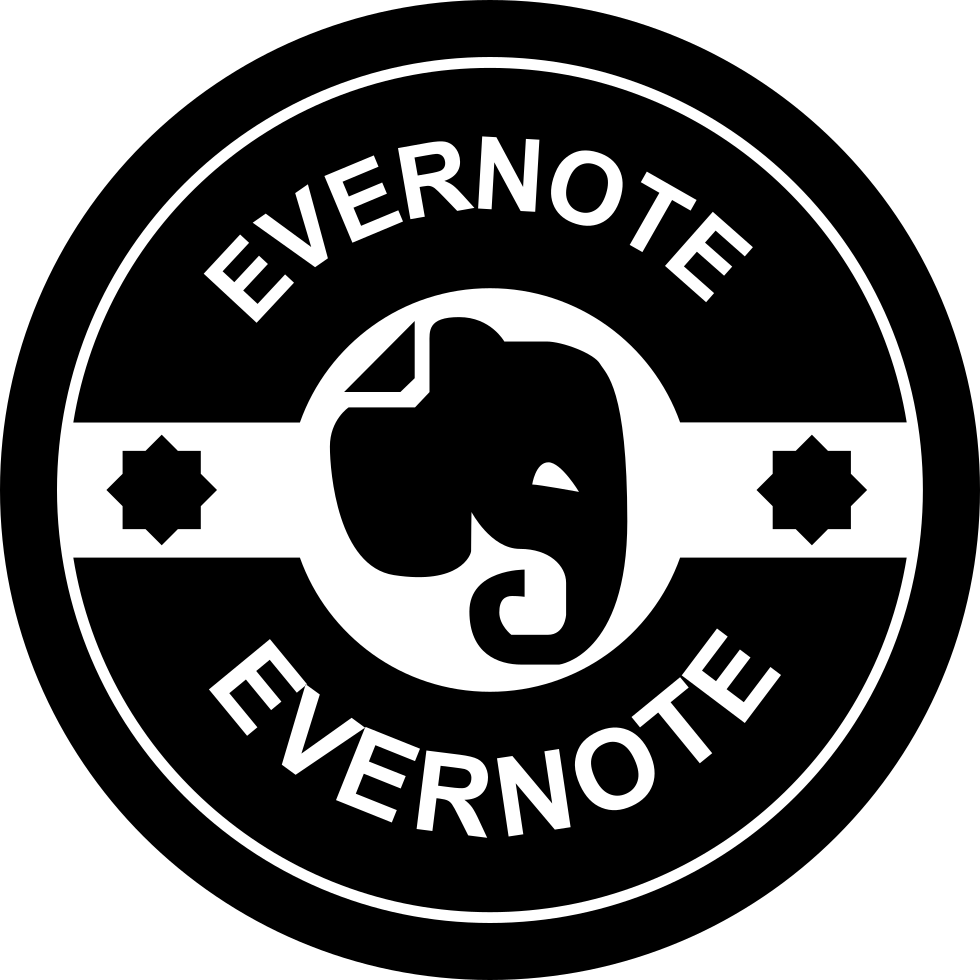 Evernote Retro Badge