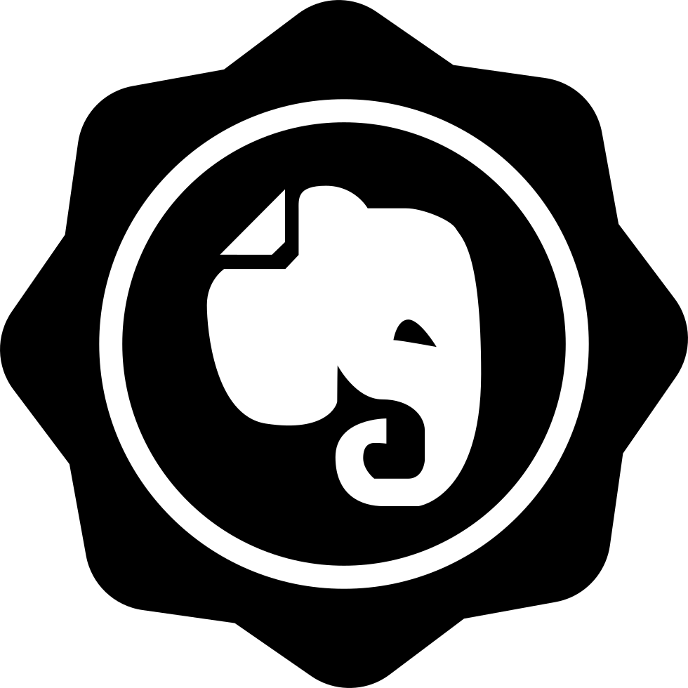 Elephant In Social Badge