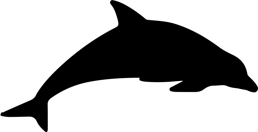 Dolphin Mammal Animal Silhouette