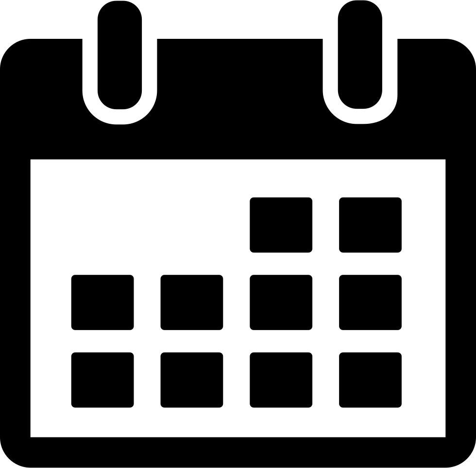 calendar svg png icon free download   7417